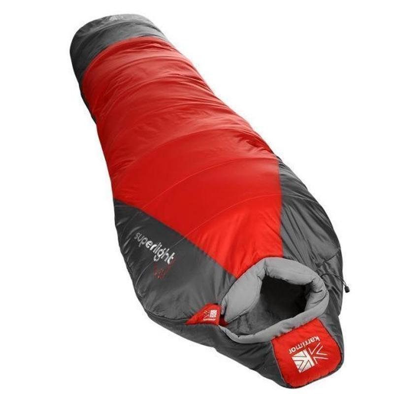 995 カリマー シュラフ オレンジ 850g Karrimor Superlight 1 Sleeping Bag Orange