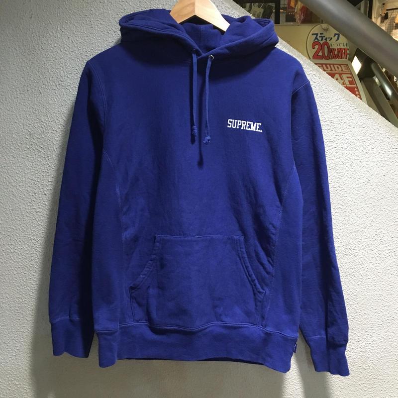 SUPREME / Pettibon Pullover size : M BLU 2014A/W