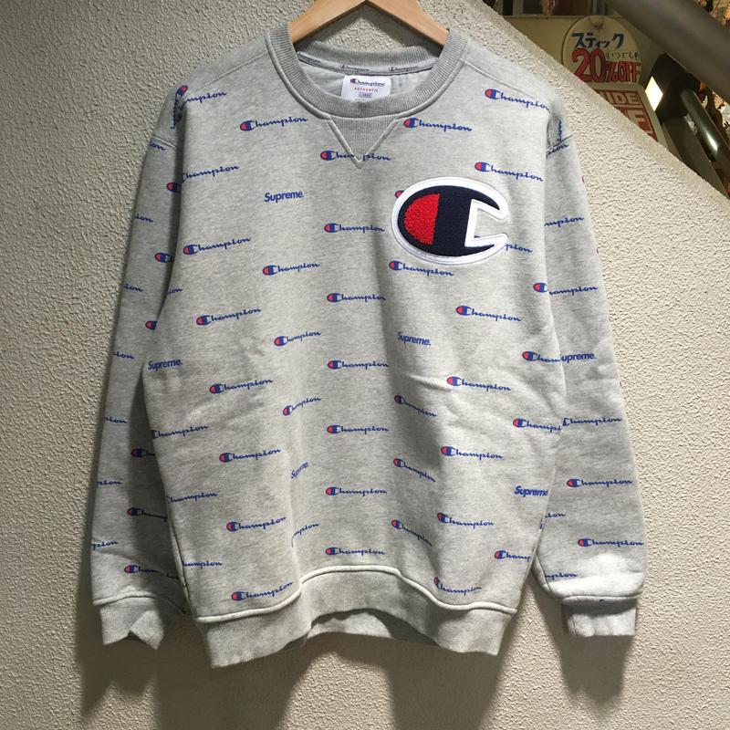SUPREME×Champion / Sweatsuit size : M GRY 2013A/W