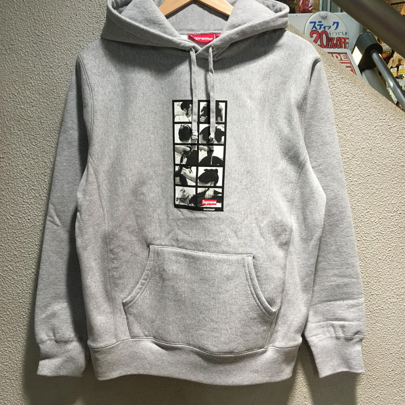 SUPREME / Sumo Hooded Sweatshirt size : M GRY 2016A/W