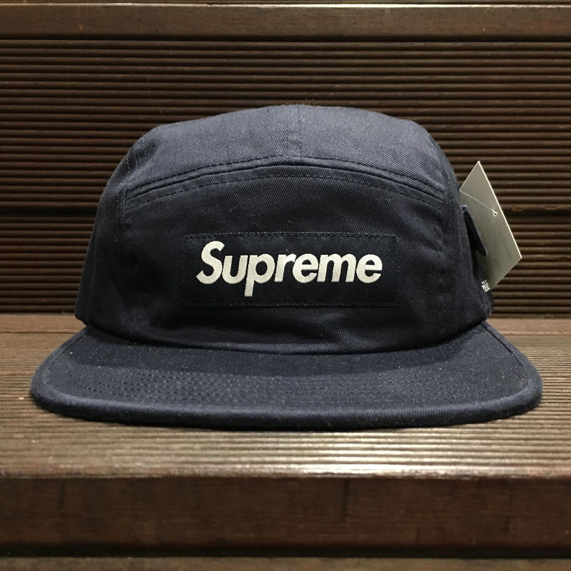 "SUPREME / Wildlife Side Pocket Camp Cap NVY ""2016A/W"""