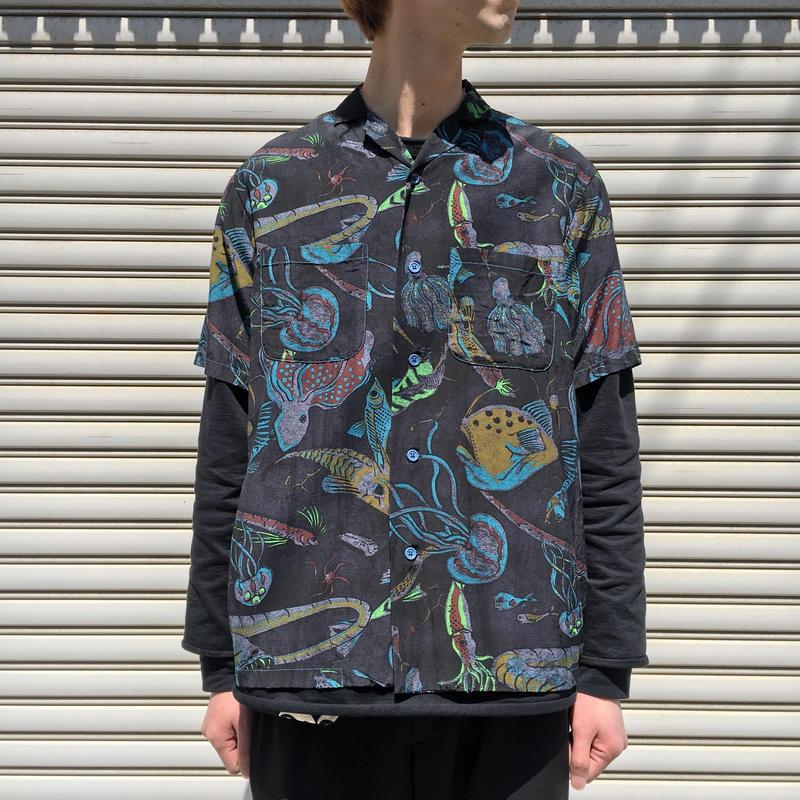 深海シャツ 【 BRUNABOINNE 】
