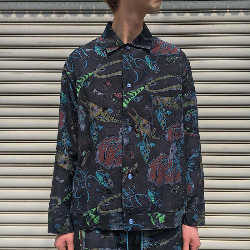 深海ジャンシャツ 【 BRUNABOINNE 】