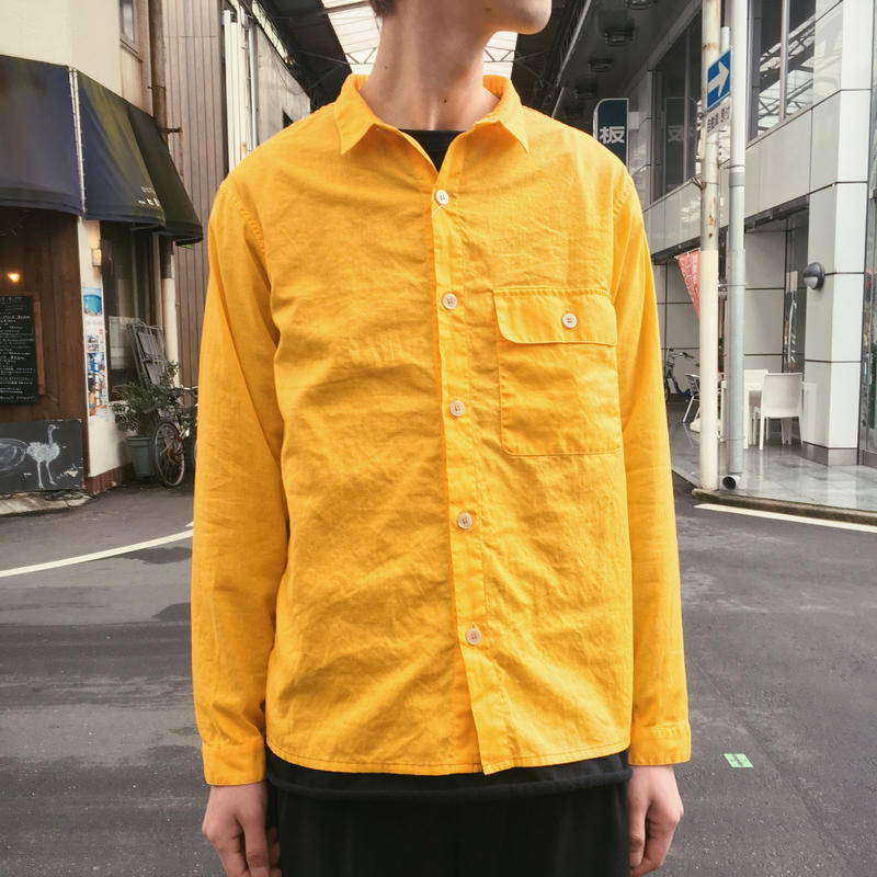 LINEN ALLROUND SHIRTS 【 VOO 】