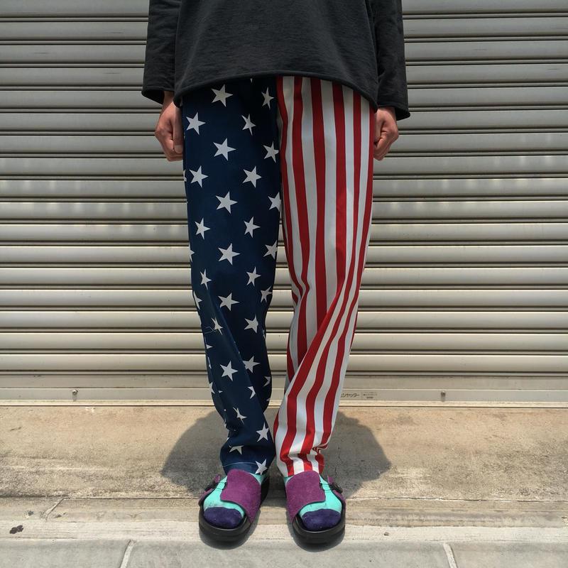 CHEF PANTS CRAZY U.S.A 【 COOKMAN 】