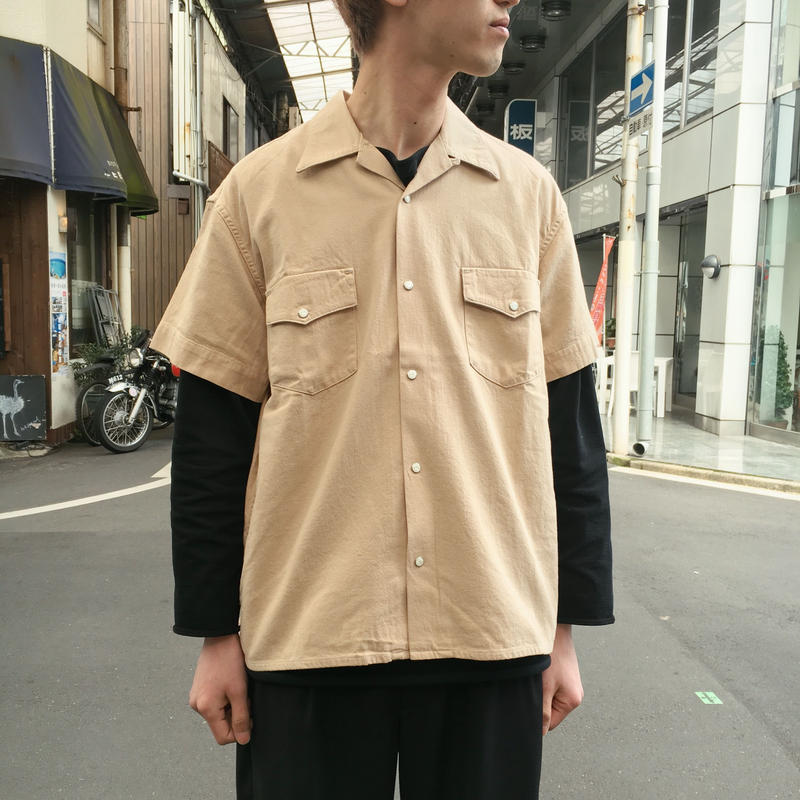 DENIM S/S SHIRTS 【 WESTOVERALLS 】