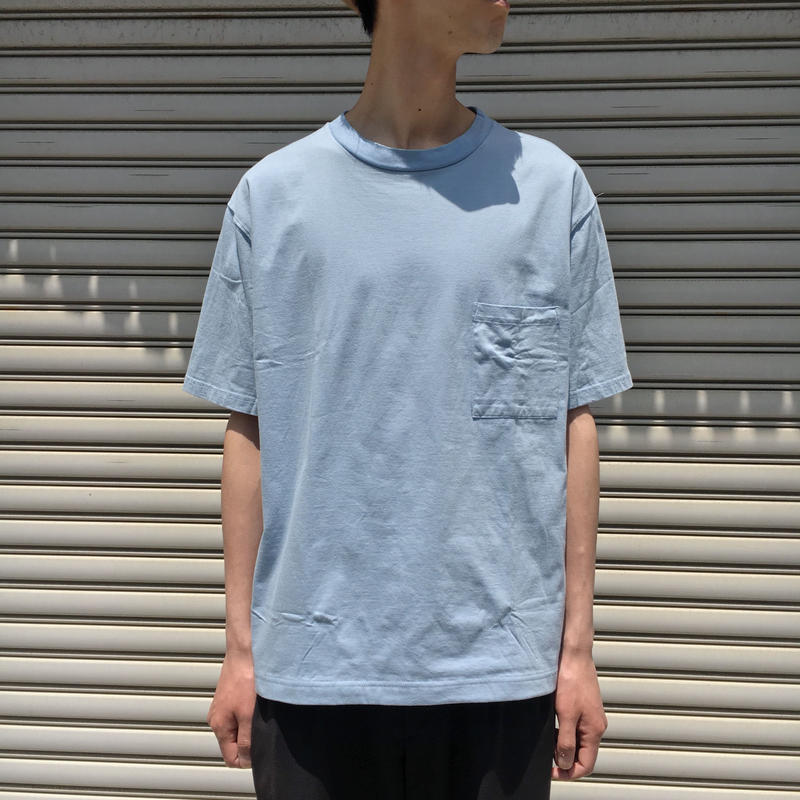 "F/W FACE ""BASIC"" S/S T-SHIRT 【 A.D.A.N 】 【 着もちいい服 】"