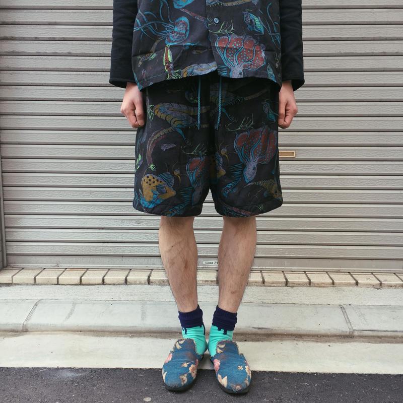 深海ショートパンツ【 BRUNABOINNE 】