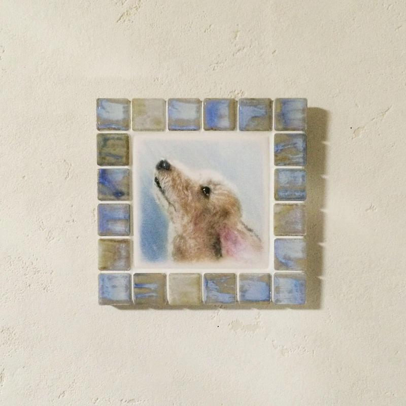 アンティークカラー/オパール(M)◆Tile Picture Frame(M)/Antique Tone/OPAL◆