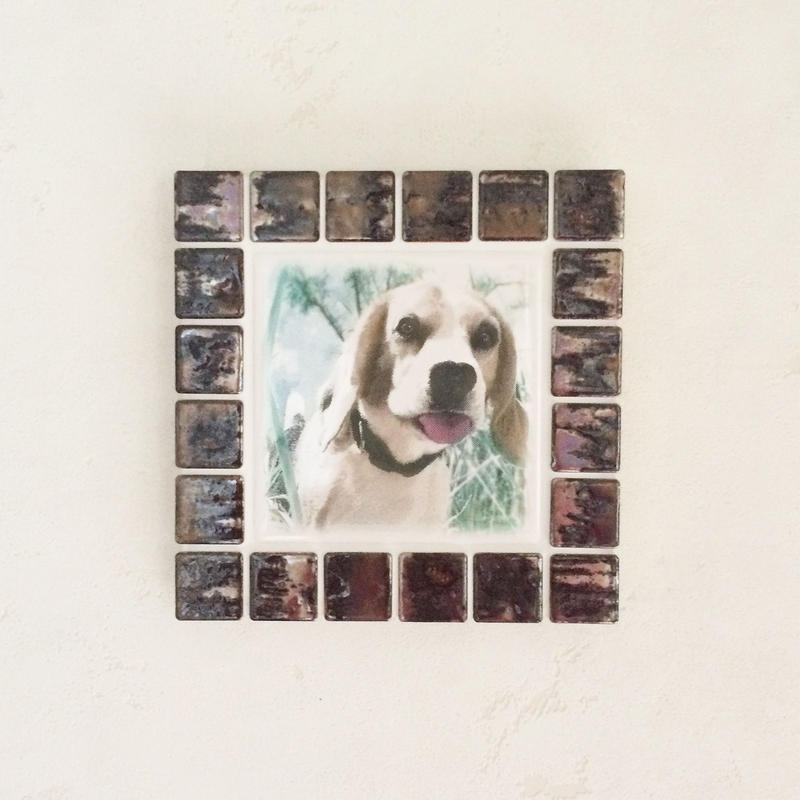 アンティークカラー/ブロンズ(M)◆Tile Picture Frame/Antique Tone/BRONZE◆