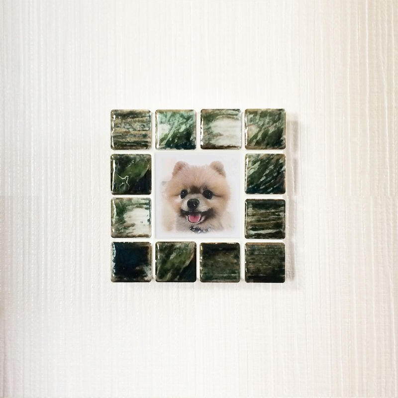 アンティークカラー/グラッシーグリーン(S)◆Tile Picture Frame(S)/Antique Tone/GRASSY GREEN◆