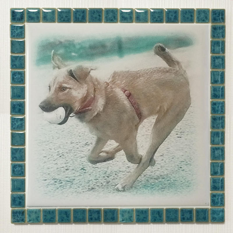 フォギーカラー/エメラルド(XL)◆Tile Picture Frame(XL)/Foggy Tone/EMERALD◆