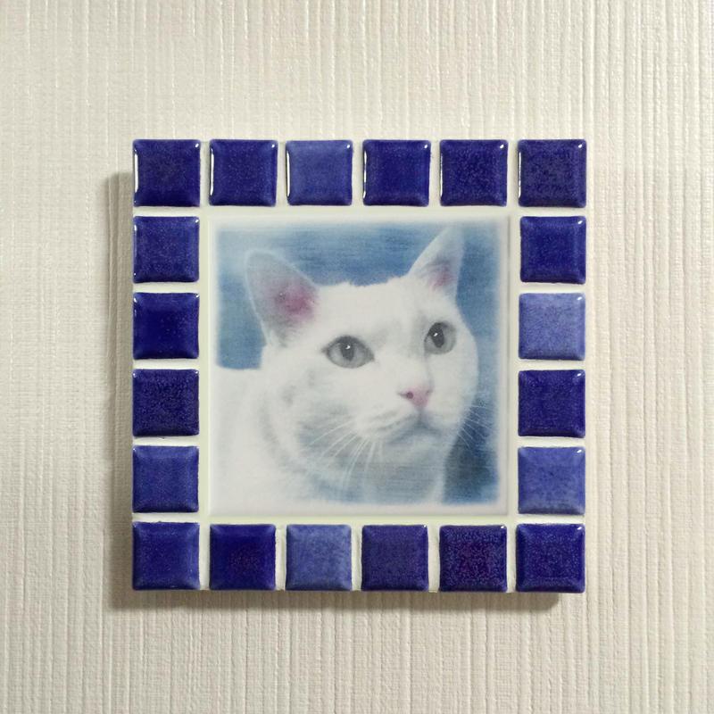 ブライトカラー/インディゴブルー(M)◆Tile Picture Frame(M)/Bright Tone/INDIGO  BLUE◆
