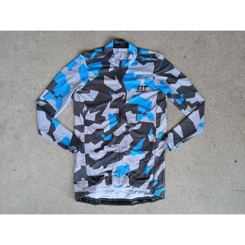CLT Products Shin Yamanaka × CLT SET IN SLEEVE CAMO PRO FIT L/S JERSEY