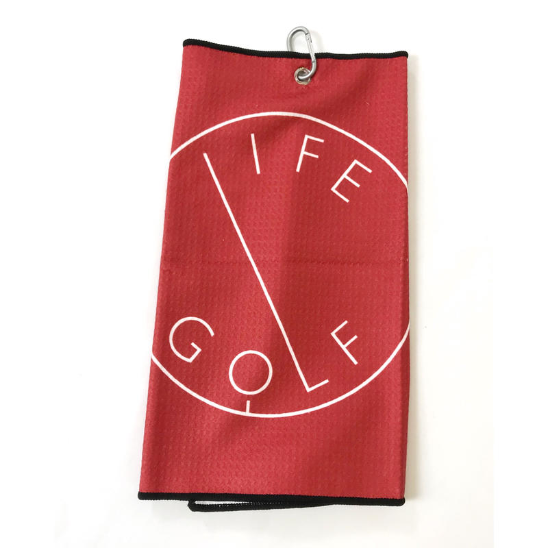 LIFE GOLF TOWEL