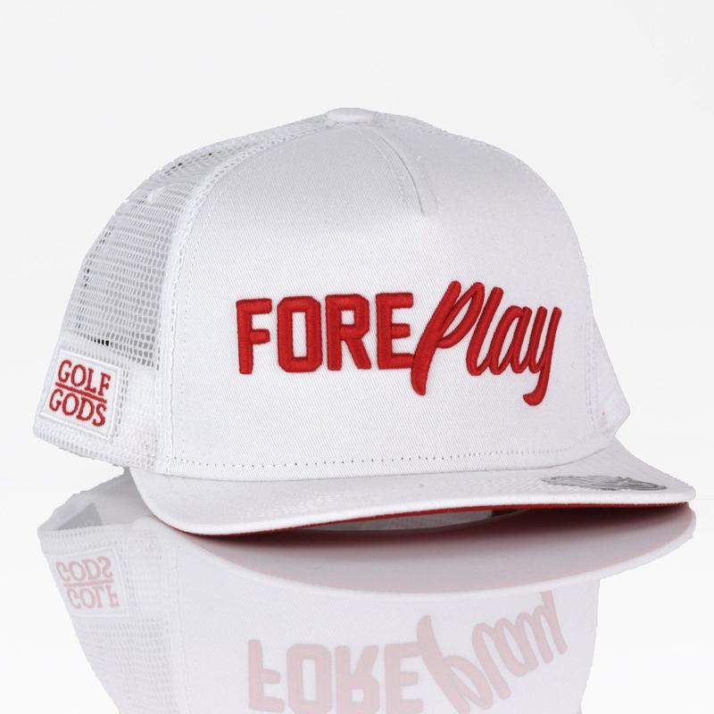 Golf Gods FORE Play White
