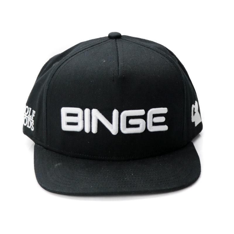 Golf Gods BINGE Black SnapBack