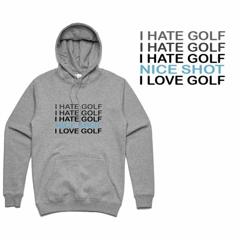 GOLF GODS - I HATE GOLF HOODIE