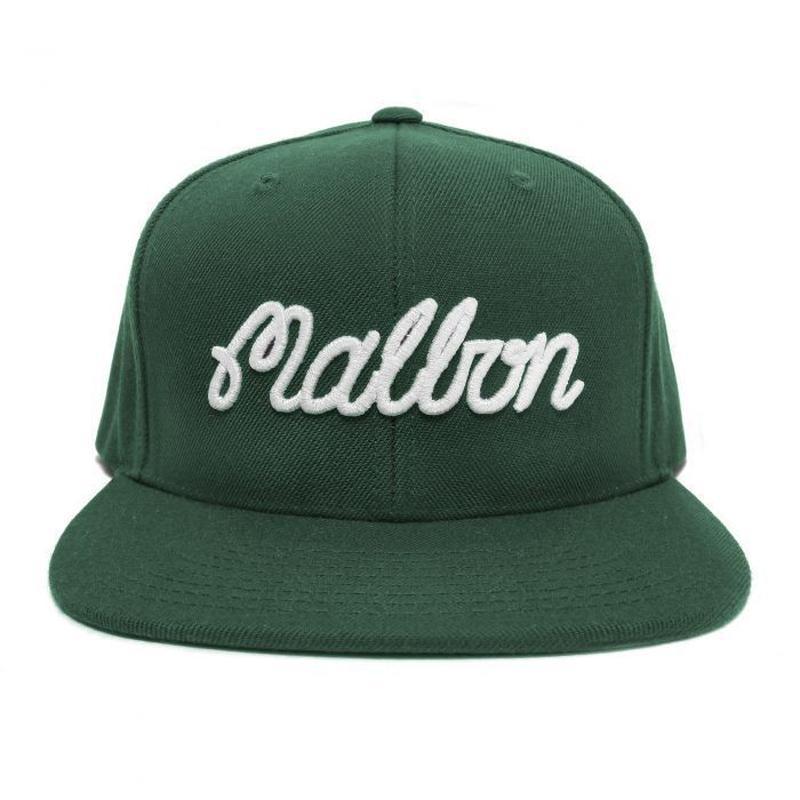 MalbonGolf Malbon Script Snapback
