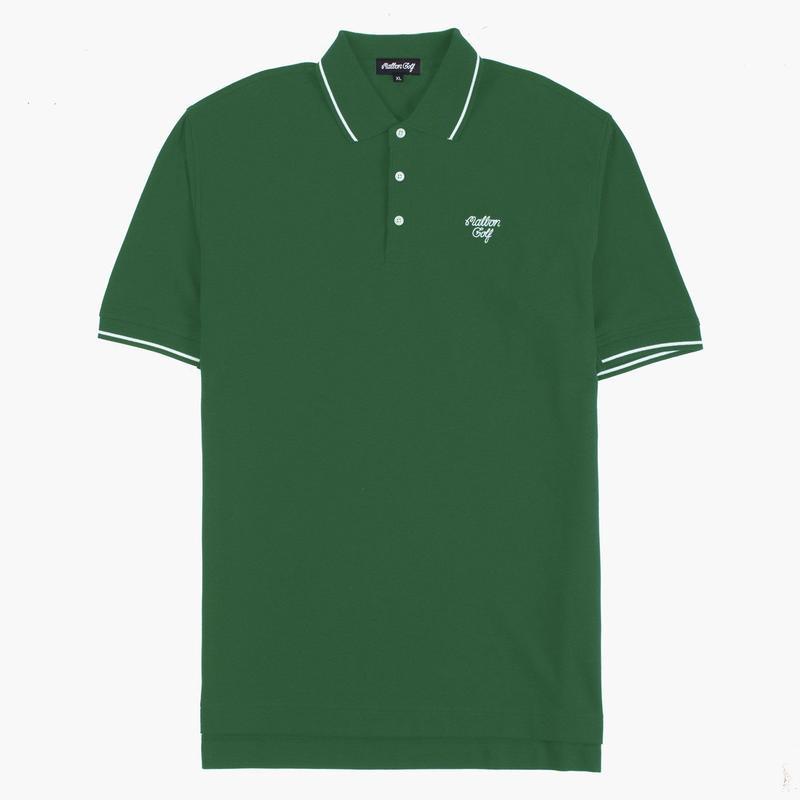 MalbonGolf GRANT POLO Green