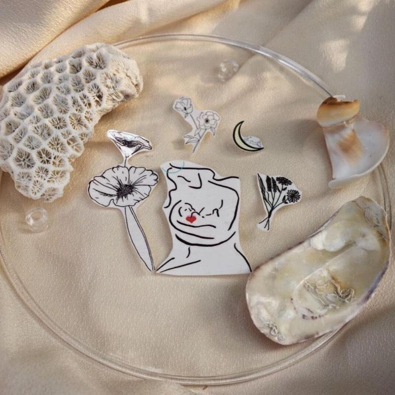 pino tatoo  jewelry set