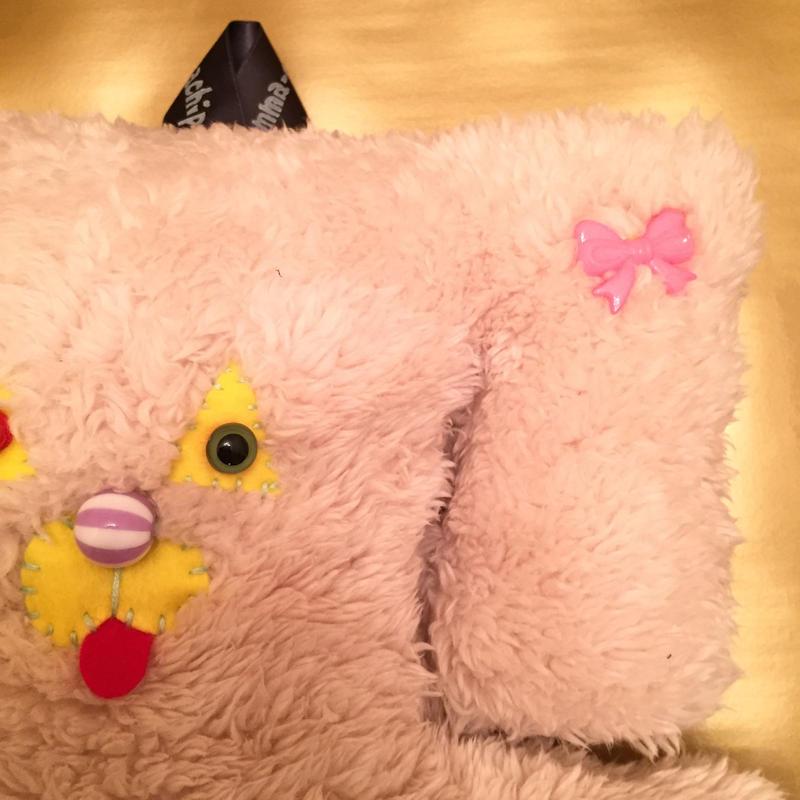 サコッシュじゃなくってスコッシ(笑) pink ribbon