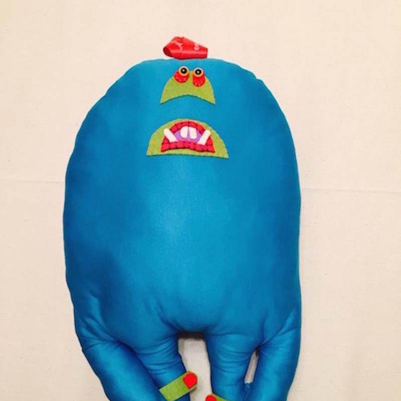 SUKIMA MONSTER     blue