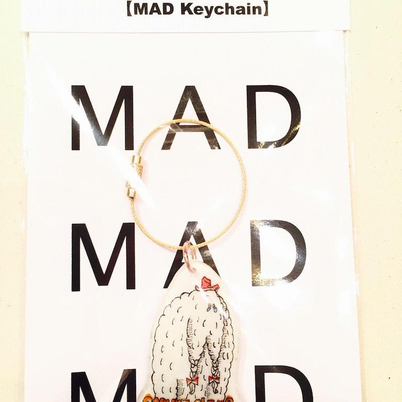 MAD Keychain     yeti     white