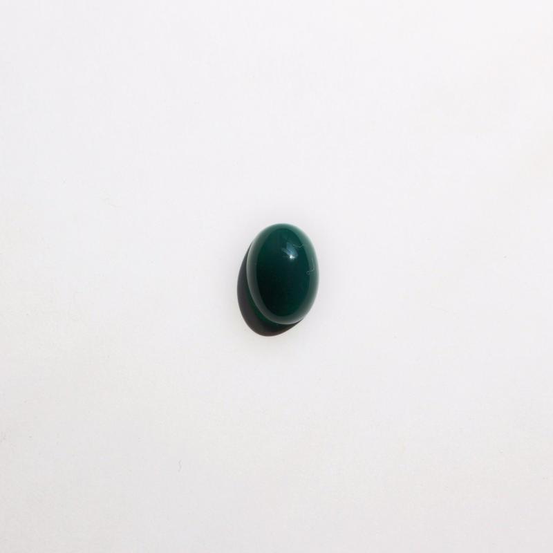 natural stone ring #green agate[size(縦1.4cm,横0.9cm)]