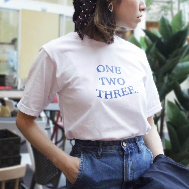 ONE TWO THREE logo-T