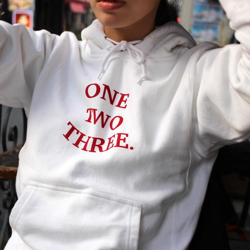 front print hoodie