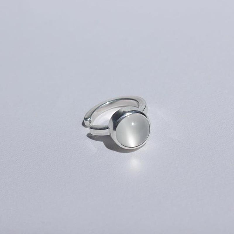 moon stone cuff