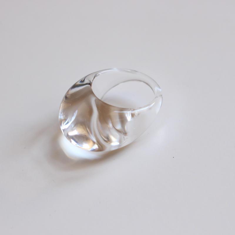 acryl clear ring