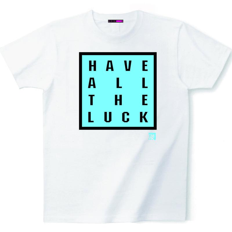 CMYK:LIMITED LINE T  2018 DECEMBER『have all the luck』