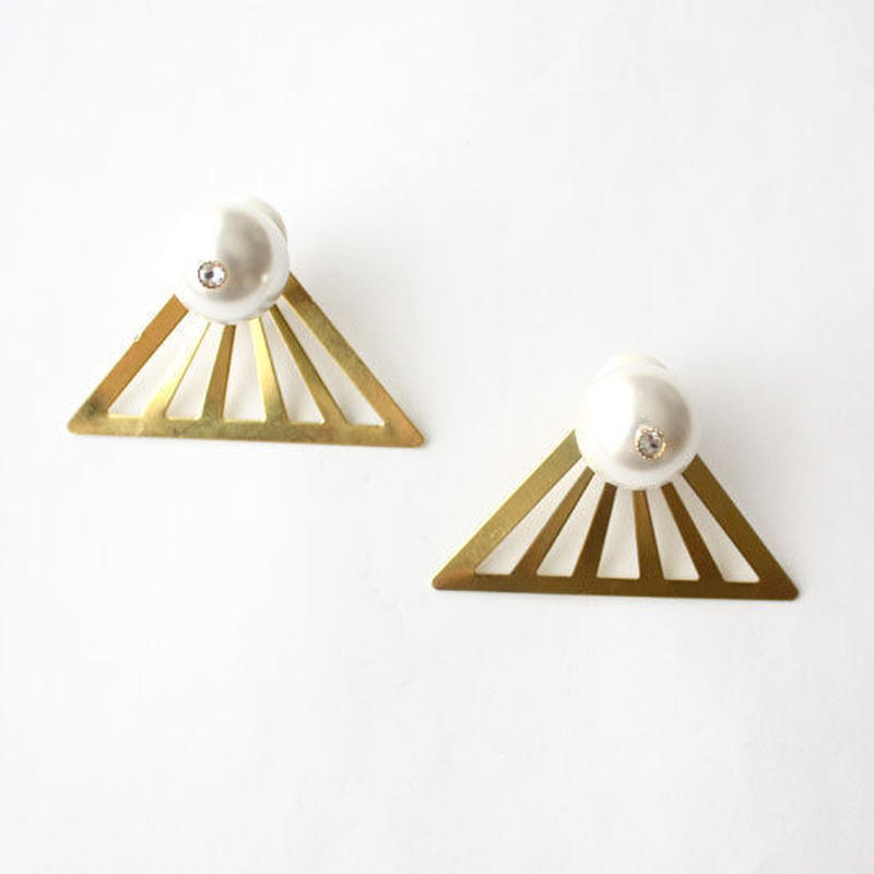 triangle -gold