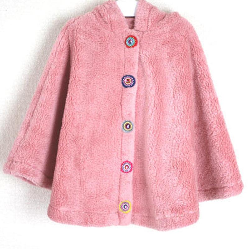 BABY & KIDS ポンチョ Pink