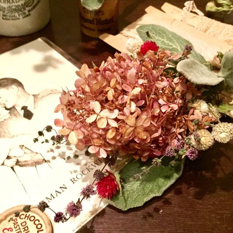 Dried flower's* / Autumn color bouquet:TypeA