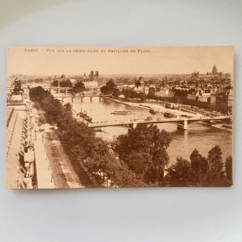 Vintage Photo - Postcard (Photo*Paris / Hungary)