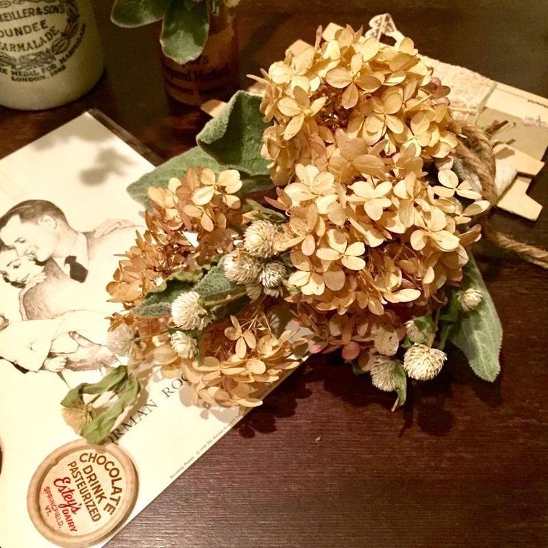 Dried flower's* / Autumn color bouquet:TypeB