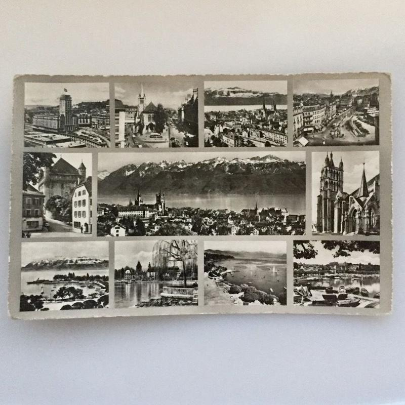 Vintage Photo - Postcard (Swiss)