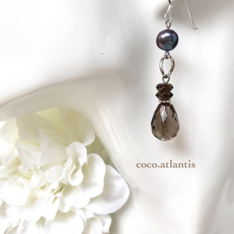 *smoky quartz〜真珠とセピアの協奏曲**