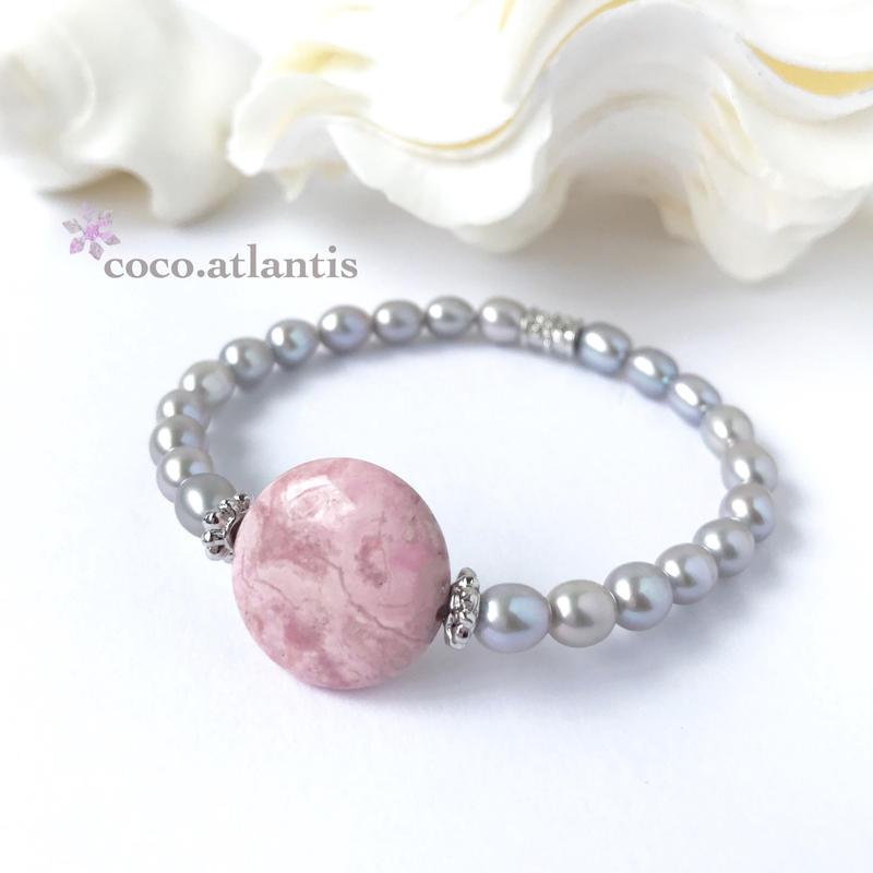 *rhodonite〜薔薇と真珠の物語**