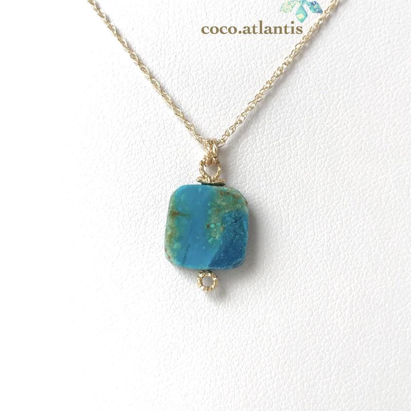 14kgf*blue opal〜海と空色の織模様**
