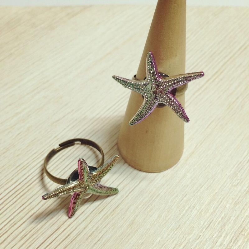 aurora starfish ring