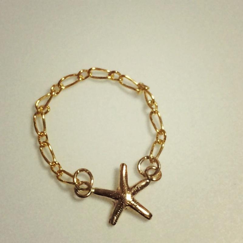 14kgf starfish ring