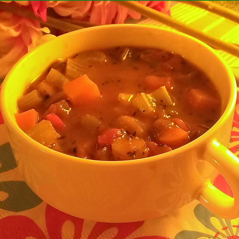 Beauty detox soup
