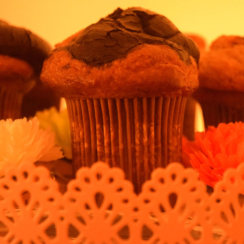 English chocolate muffin
