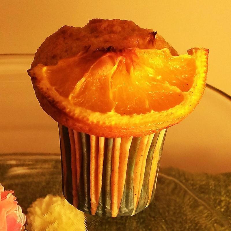 Cailfolnian orange muffin