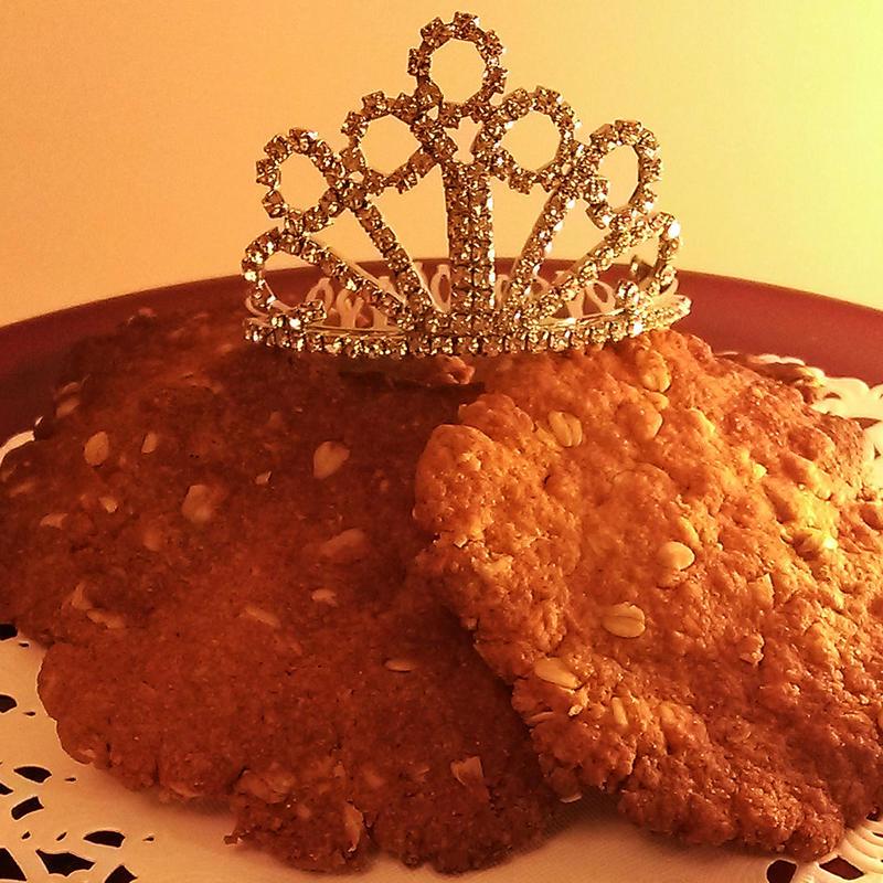 Royal crispy cookie