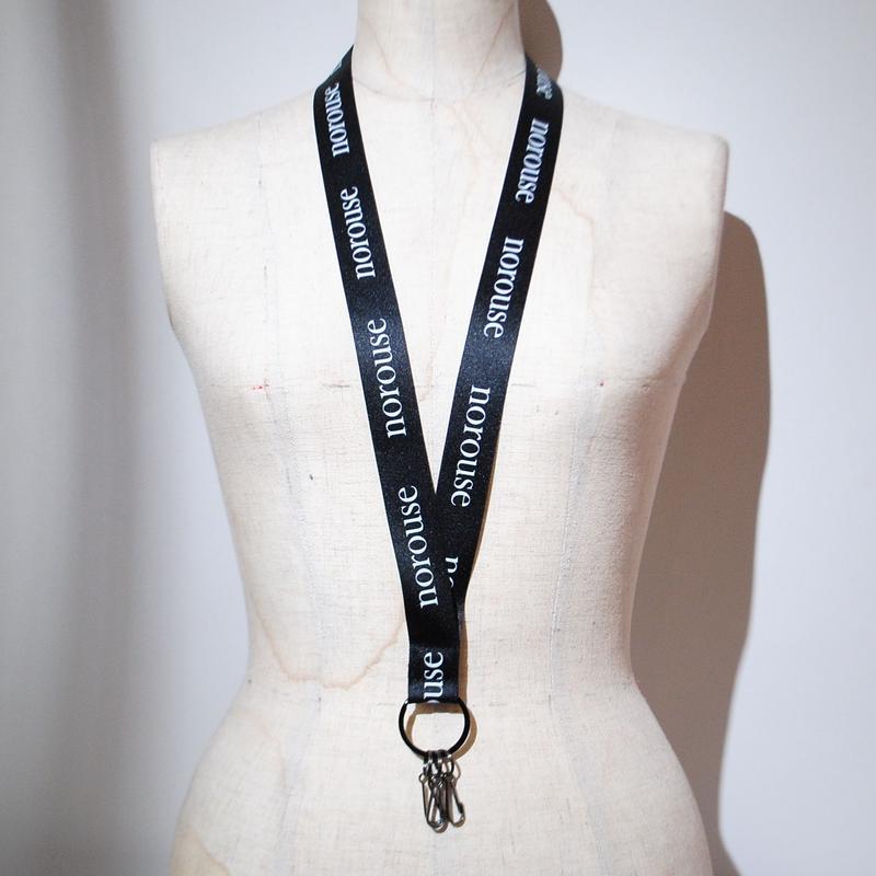 norouse/neck strap(black)
